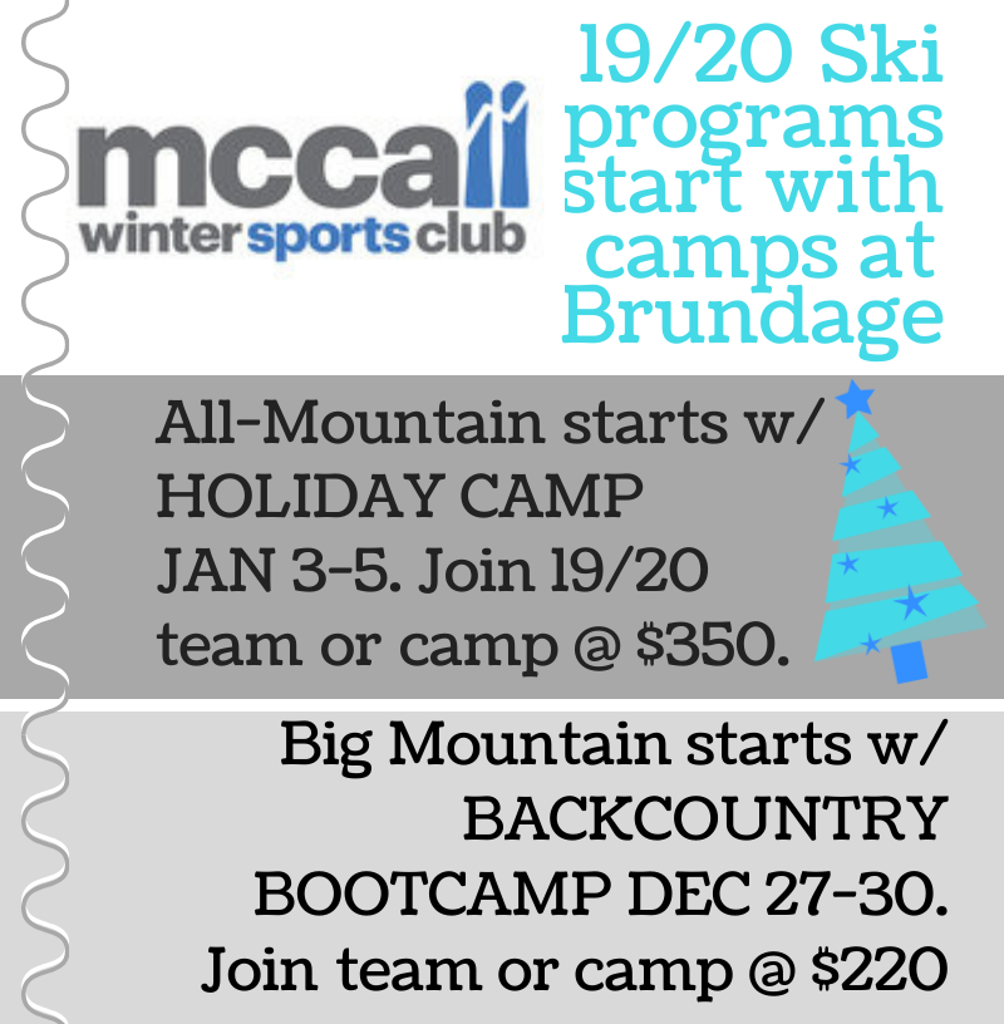 Holiday Camps!