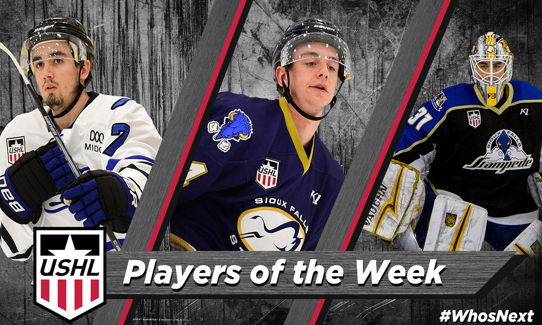 USHL: Players Of The Week - Week 12, 2018-19
