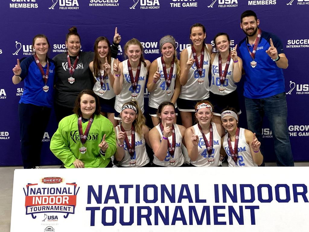 2021 USAFH NIT Pool Y U16 National Champions!