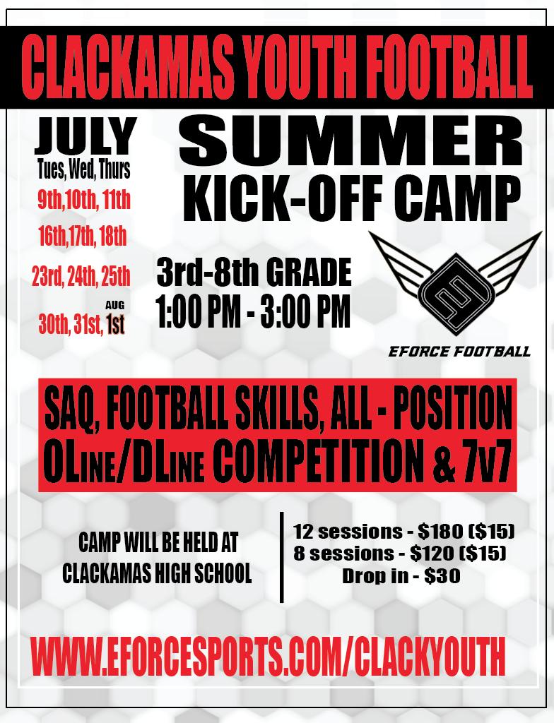 EForce Summer Football Camp