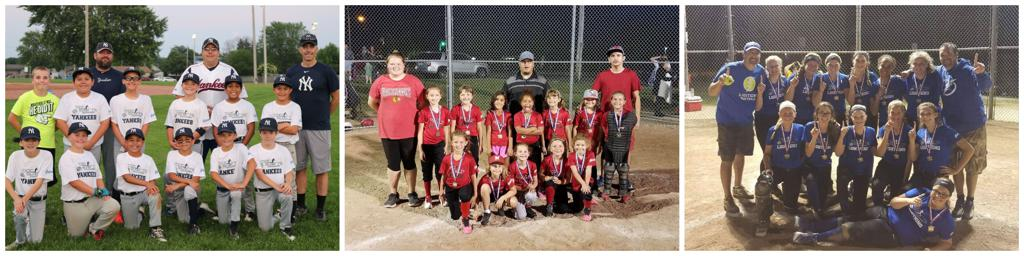Kenosha Youth Baseball, Softball and T-Ball Leagues