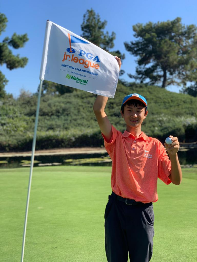 Colin Li of the San Diego County League #1 All-Stars made his hole-in-one during the Southern California Section Championship! Colin aced Hole No. 15 at the Ike Course at Industry Hills from 113 yards with his Pitching Wedge.