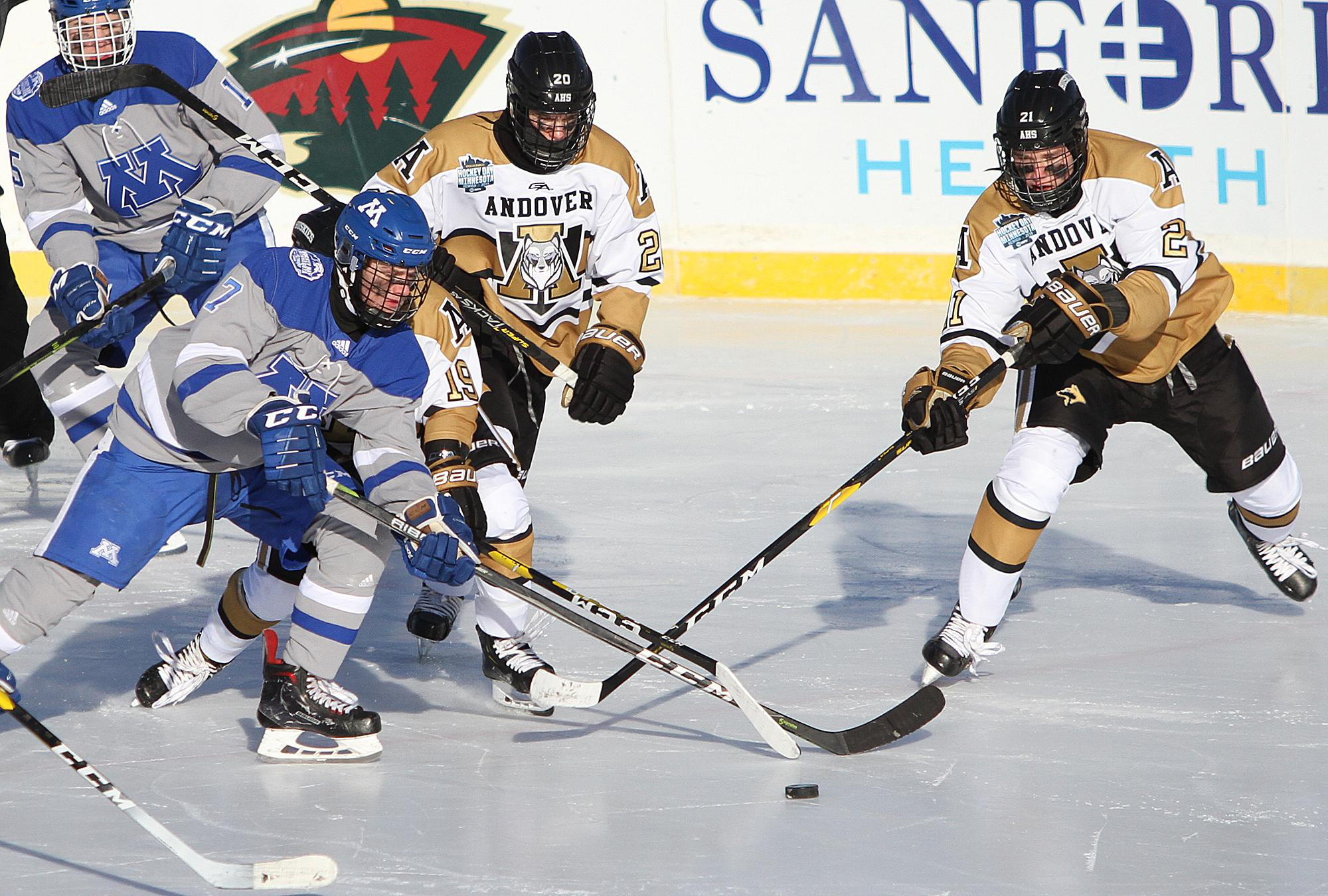 MN H.S.: Minnetonka's Three-goal, Third-period Outburst Freezes Andover In Hockey Day Minnesota Matinee