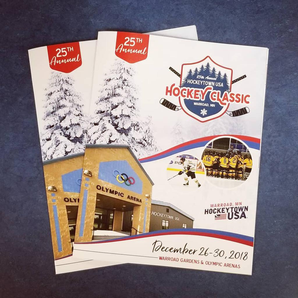 25th Annual Warroad HockeytownUSA Holiday Classic Brochure