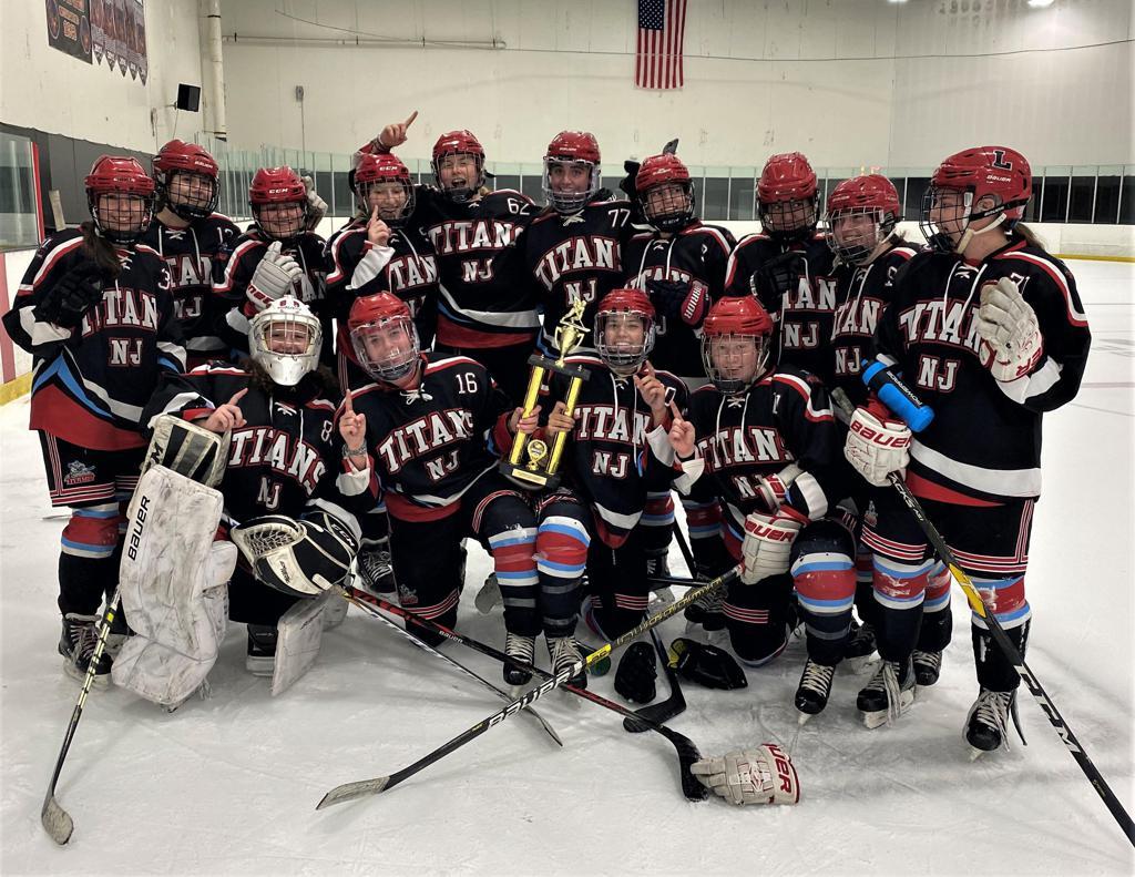Titans U19 TI Girls win President's Day Tournament