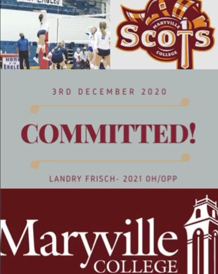 Landry Fisch commits to Maryville College