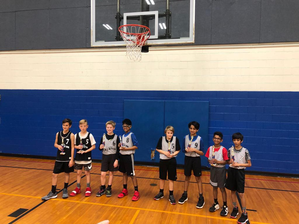 2020 5th Grade Shootout Winners