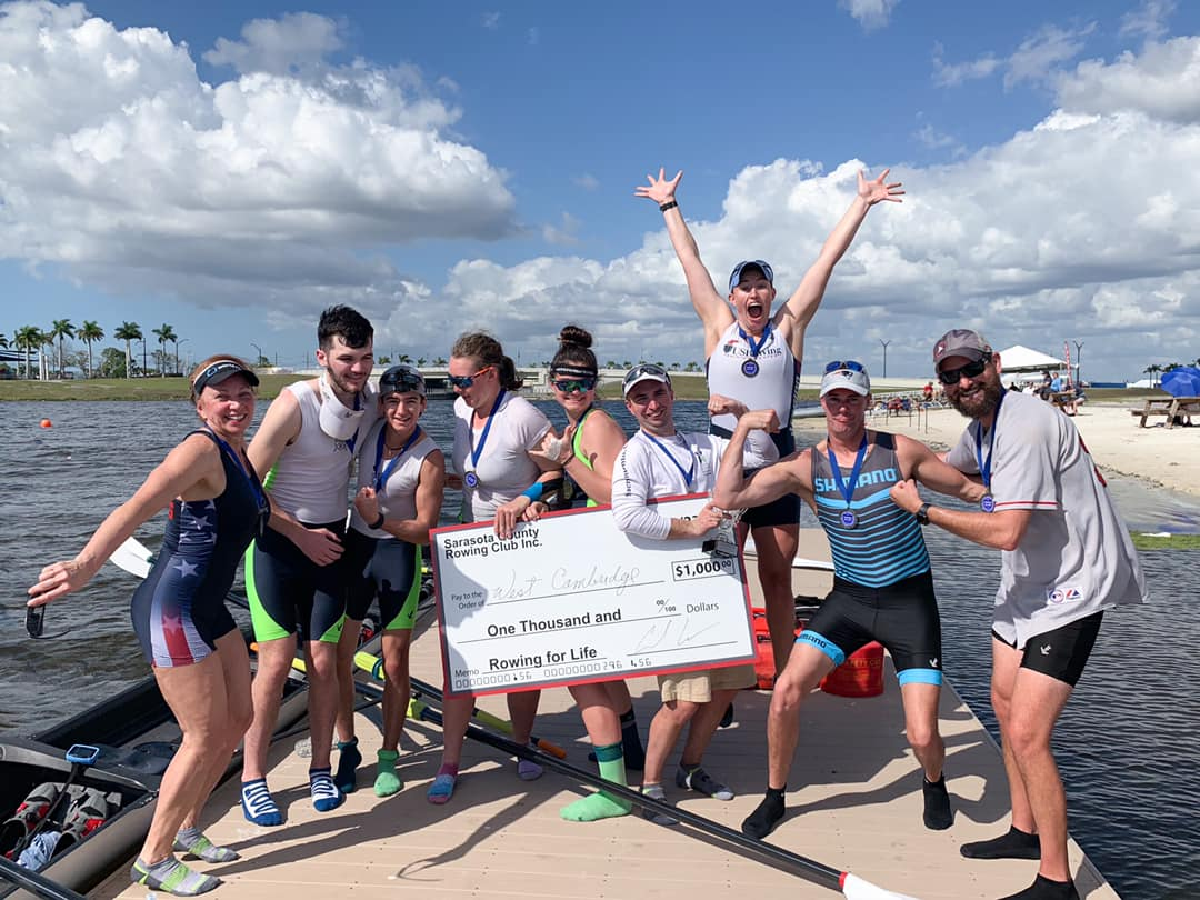 West Cambridge Rowing win $1000 prize