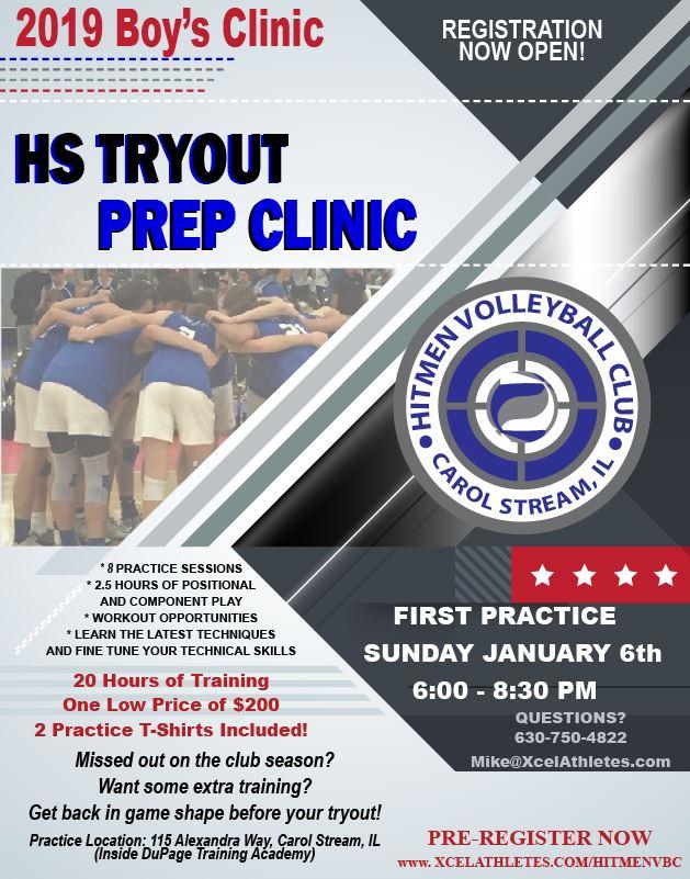 Hitmen HS Tryout Prep Clinic