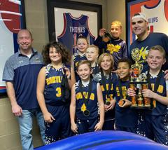 4th graders win MLK tournament at The Cage (1/18/20)