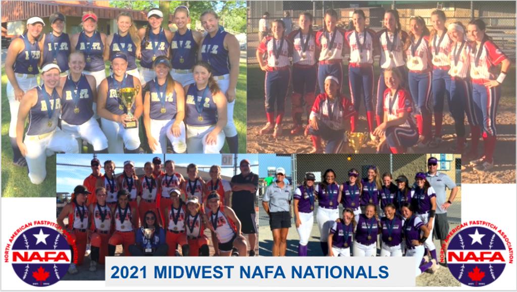 2021 Midwest NAFA Nationals Girls Fastpitch Softball Tournament