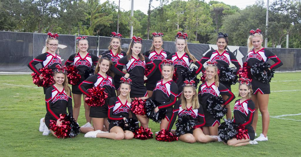 Jupiter Christian Varsity Cheerleading Traci Sproule Photography Senior