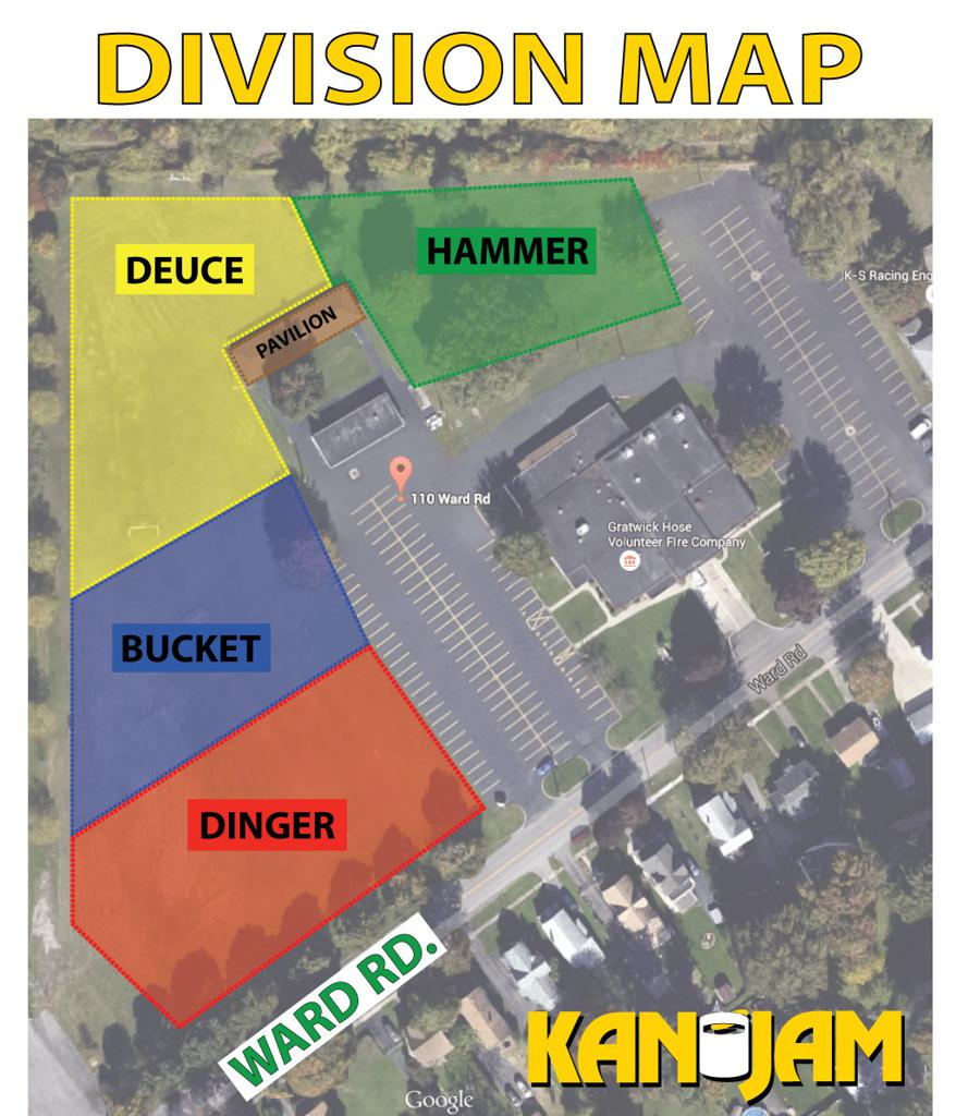 Division map