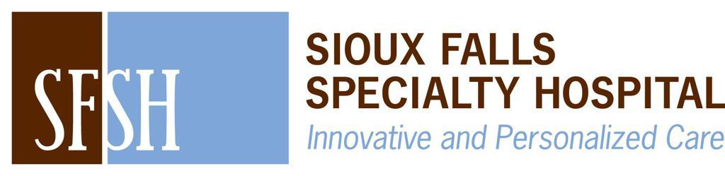 Sioux Falls Specialty Hospital Logo