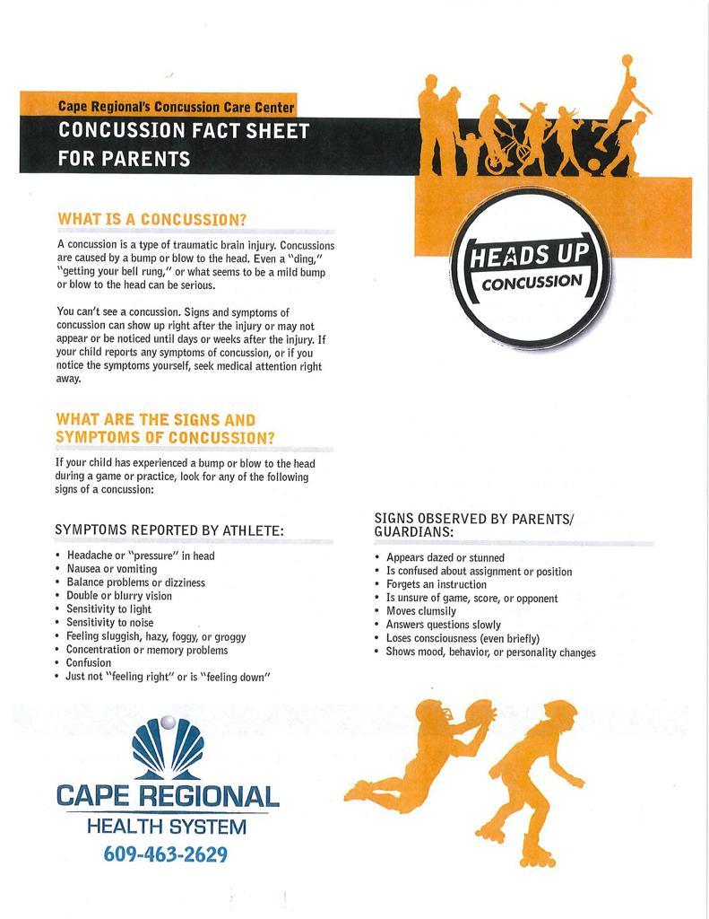 Concussion for Parents Image