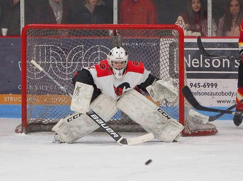 Glenwood Springs transitioned from playing club hockey to joining the CHSAA prior to Hunter Hadsock's junior season. After a rough first year, the varsity goaltender had a productive senior season with a .901 save percentage and 2.45 goals-against average