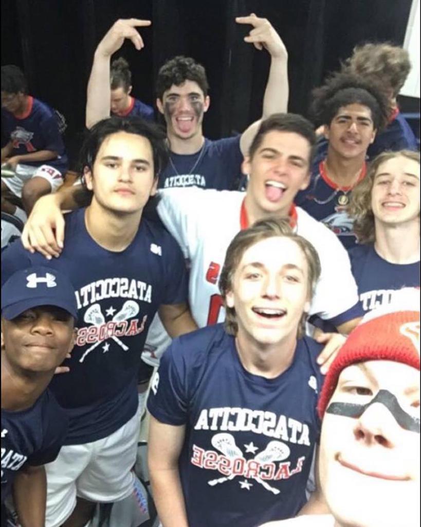 "Team ""Selfie"" After Victory"