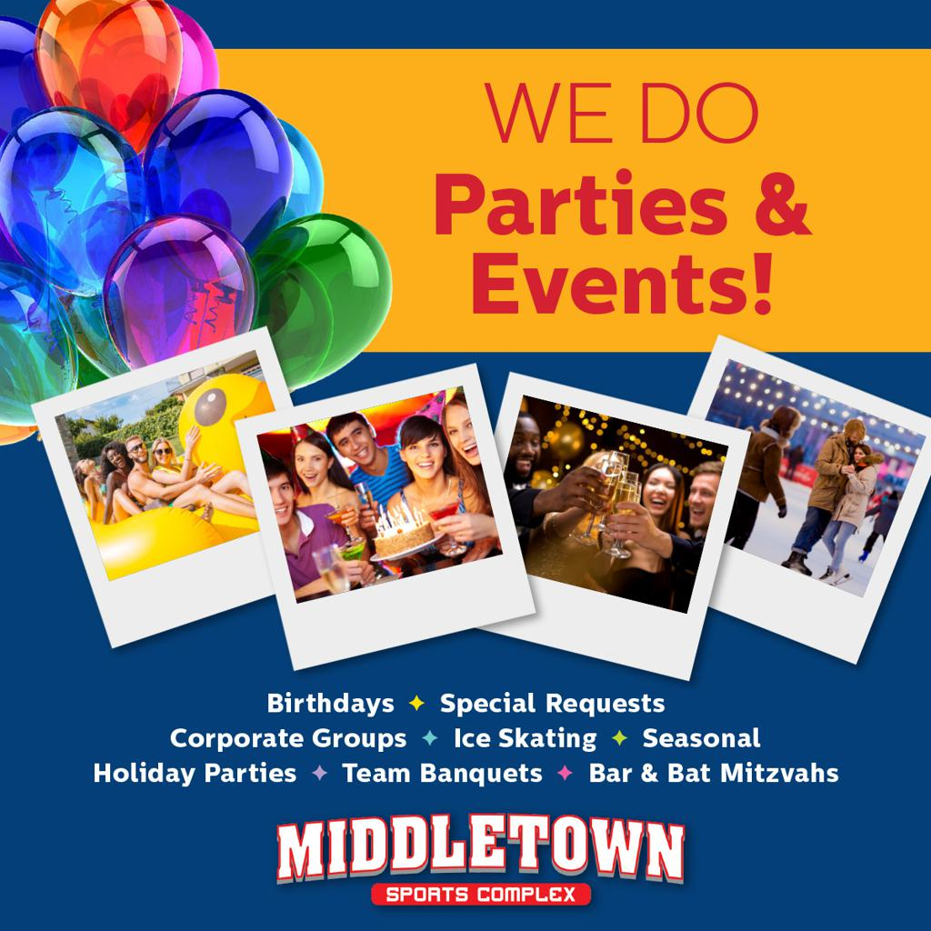 We do parties & events
