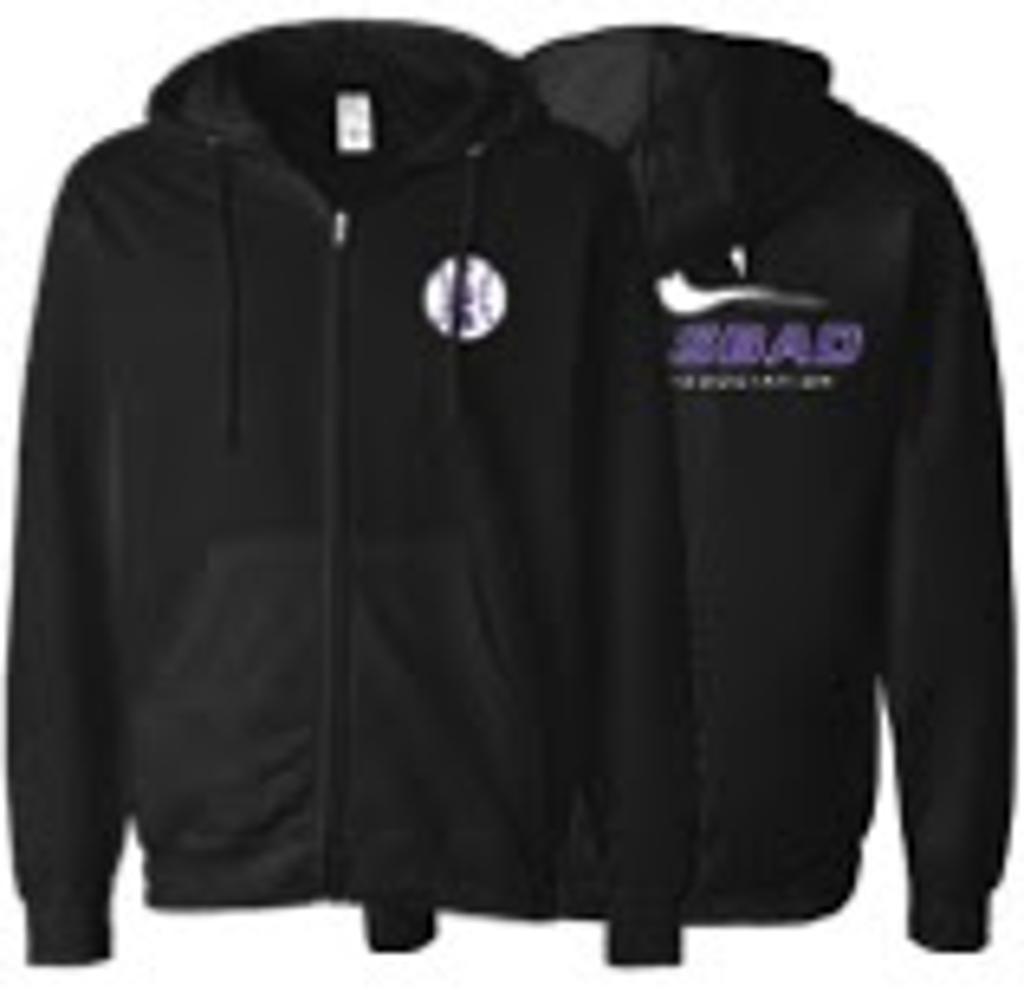 Adult S&S Activewear Zip Hoodie Image