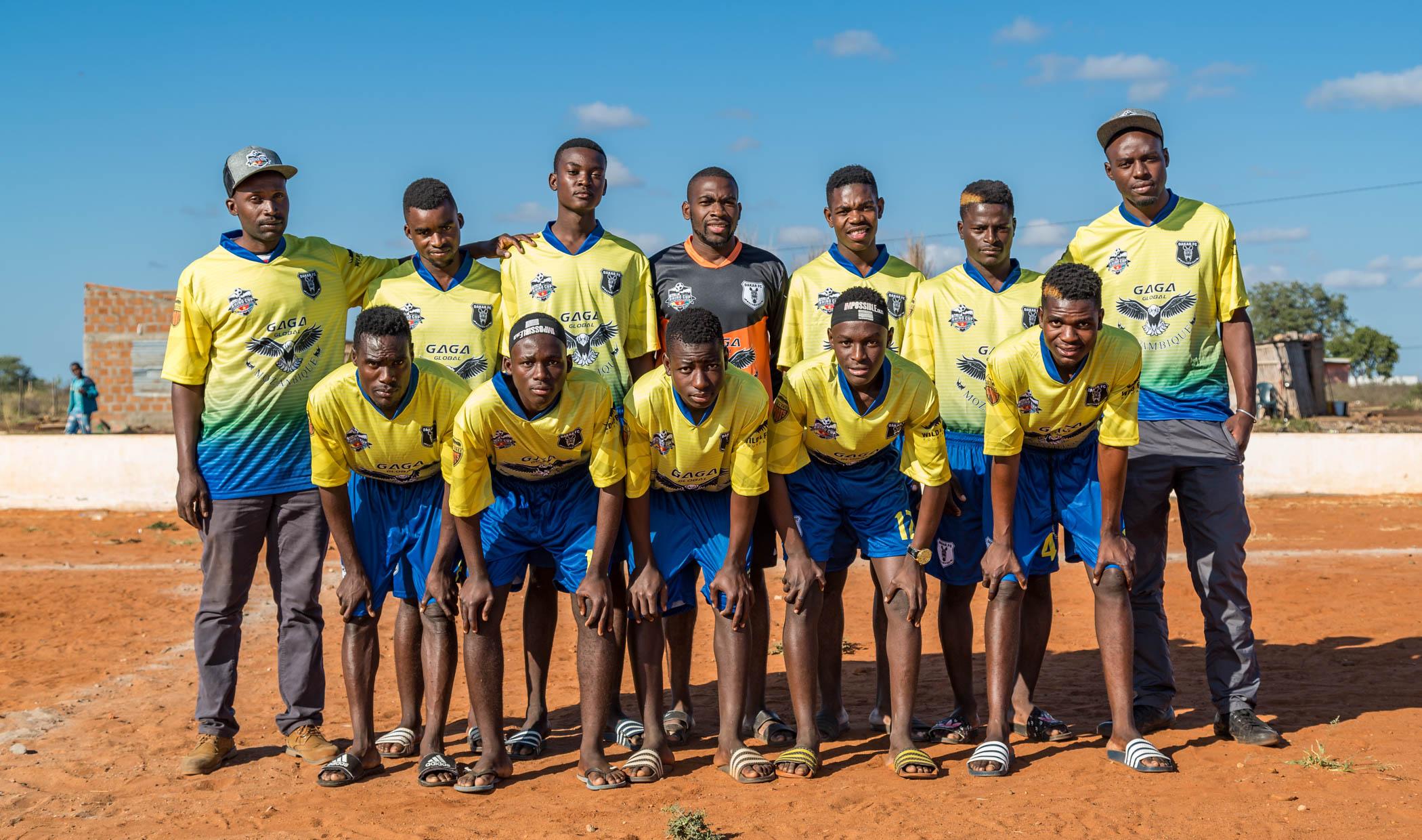 Dakar FC Zebras Team Photo, Rhino Cup Champions League, May 2019