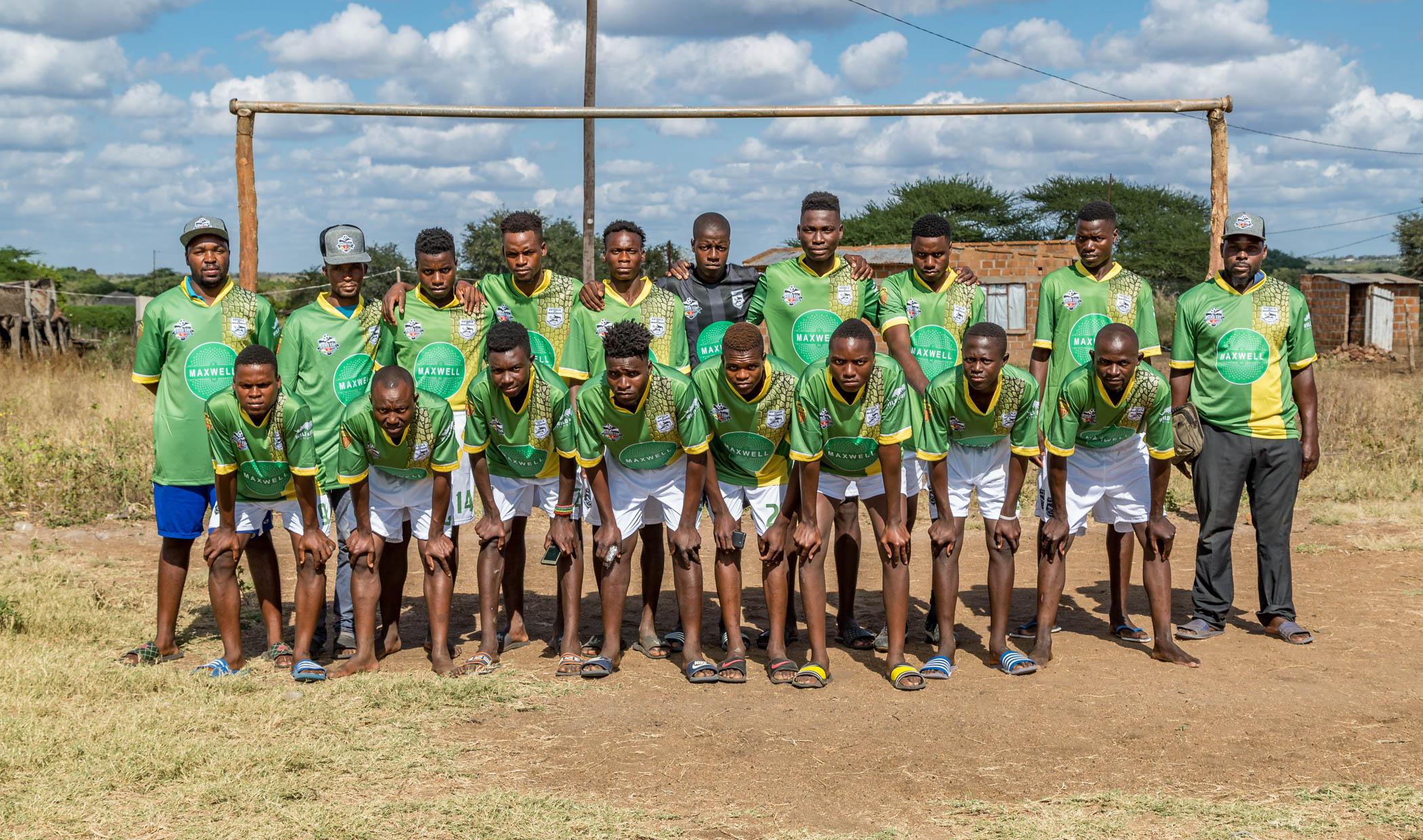 Mahungo FC Crocodiles Team Photo, Rhino Cup Champions League, May 2019