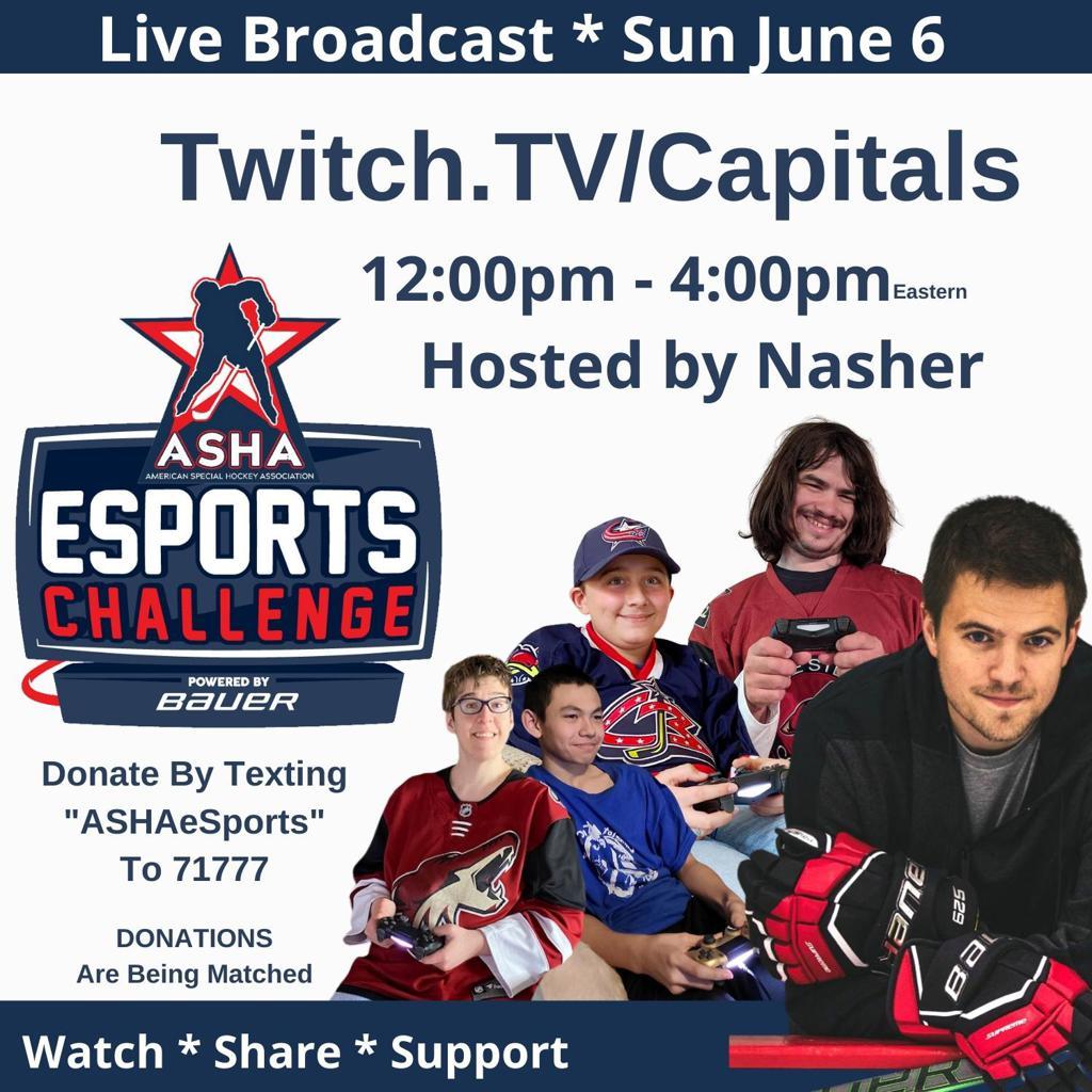 Broadcasting Live June 6th 12pm EST