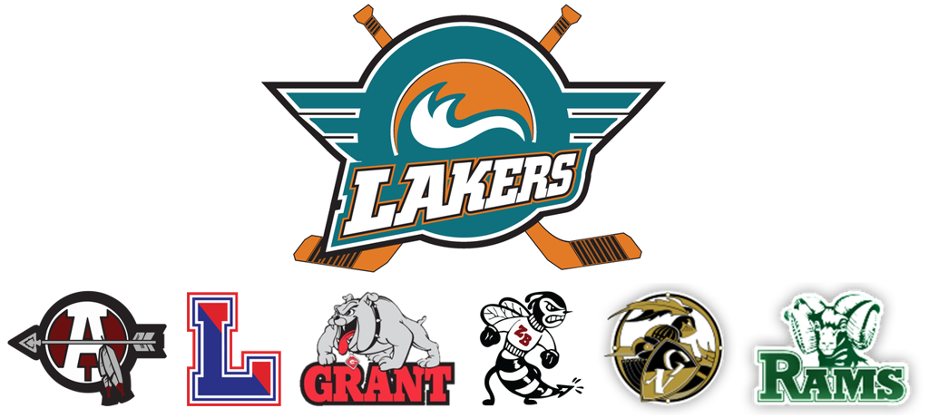 Lakers Antioch Lakes Grant Rams Grayslake ZB logos