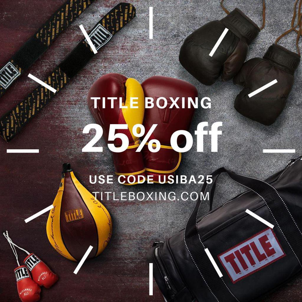 Title Boxing 25% off code USIBA25