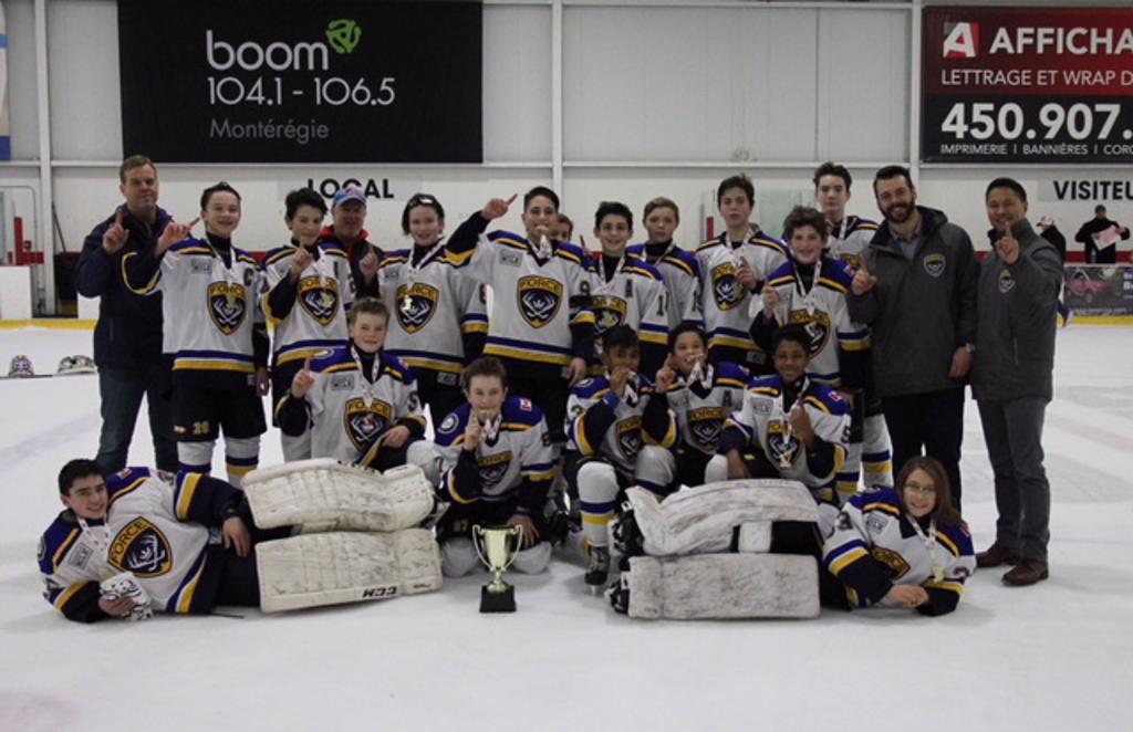 Minor Bantam A wins Canada Cup