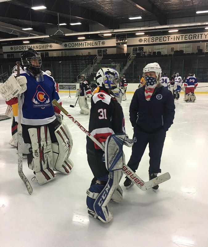 The hiring of Spatenka (right) is meant to help Team Colorado girls transition into becoming more competitive nationwide.