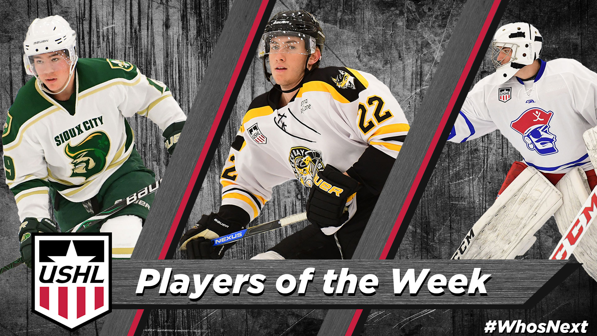 USHL: USHL Players Of The Week - Week 6, 2018-19