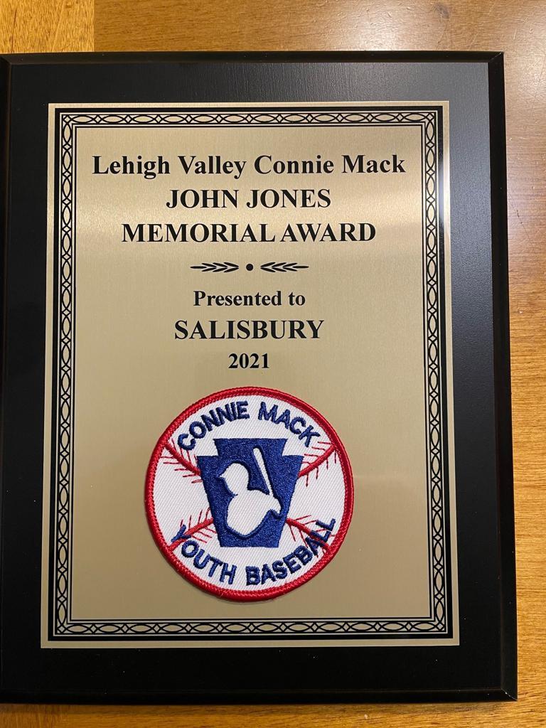 2021 Spring Senior Connie Mack Sportsmanship Award