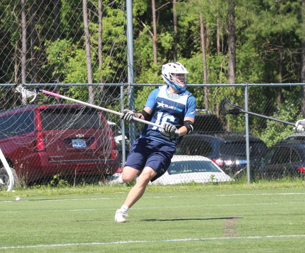Griffin Aslanian Lacrosse Georgetown Lacrosse Blue Star Lacrosse