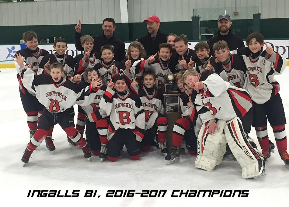 Ingalls B1, 2016-2017 Chamions - Brunswick