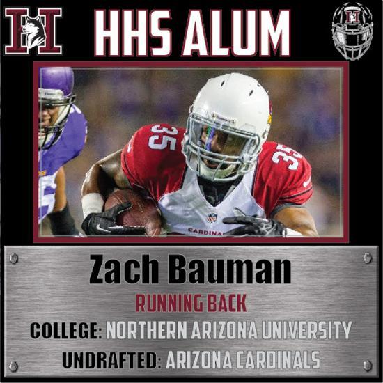 Zach Bauman HHS Alum