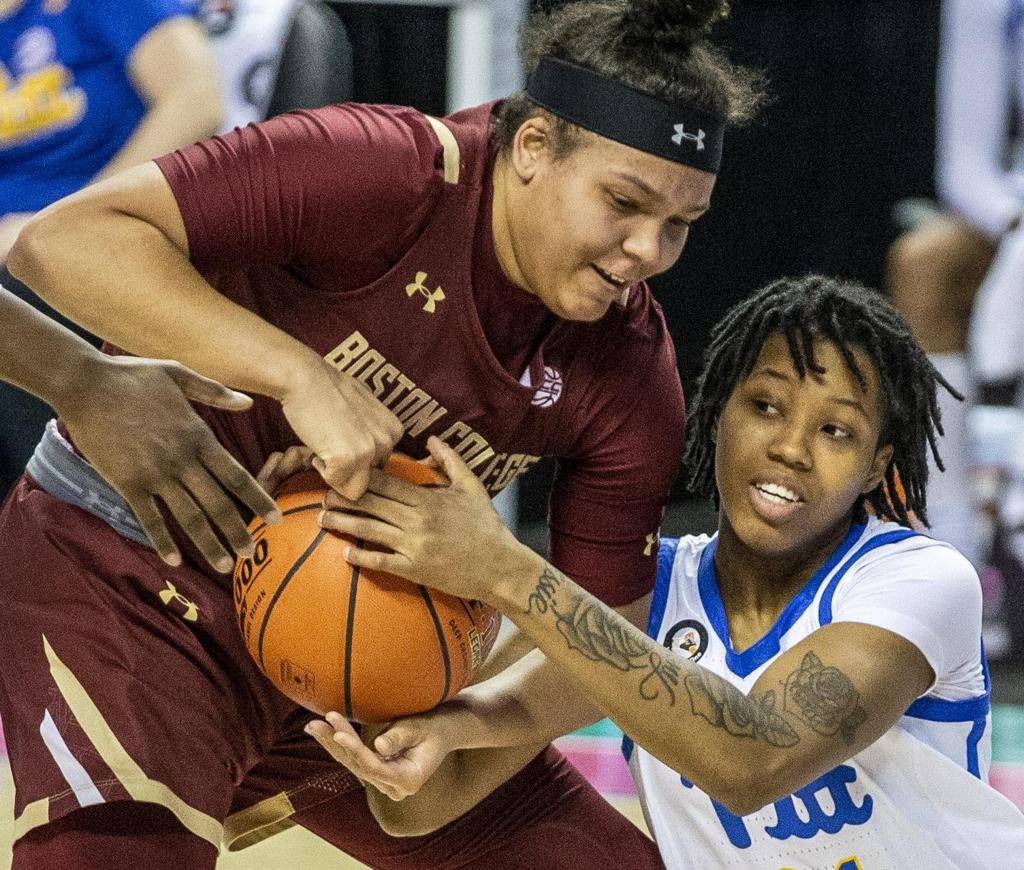 ACC Women's Basketball Conference Tournament Results and Highlights Game 1: No. 12 Pitt vs No. 13 Boston College, 56-67
