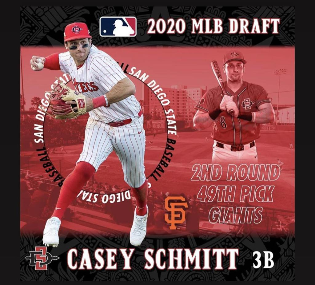 SF Giants Draft Casey Schmitt 49th overall! 2020 MLB Draft