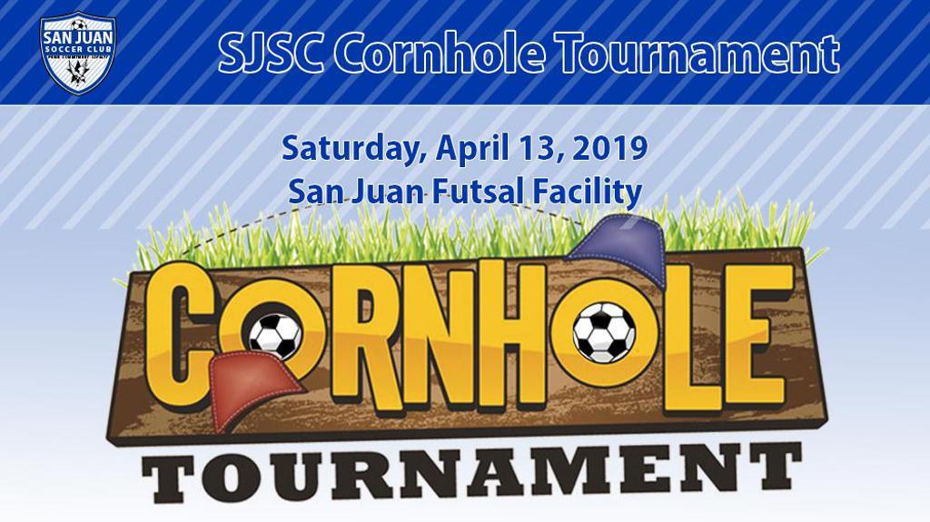 SJSC Cornhole Tournament Title