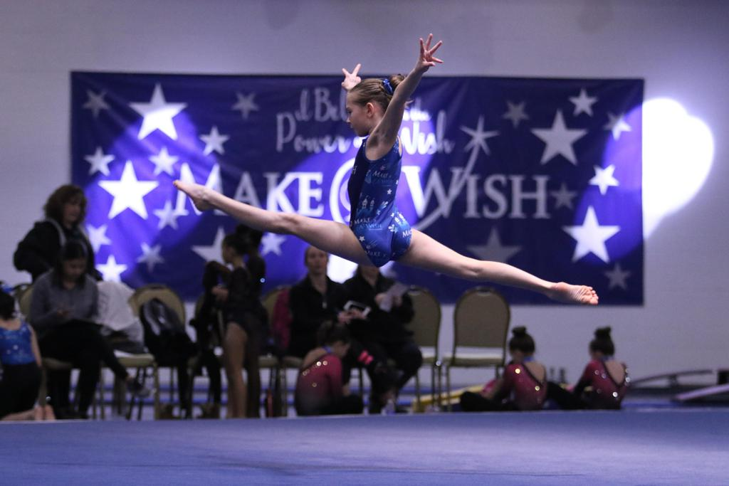 Freehold Elite Gymnastics Make A Wish Meet Photo