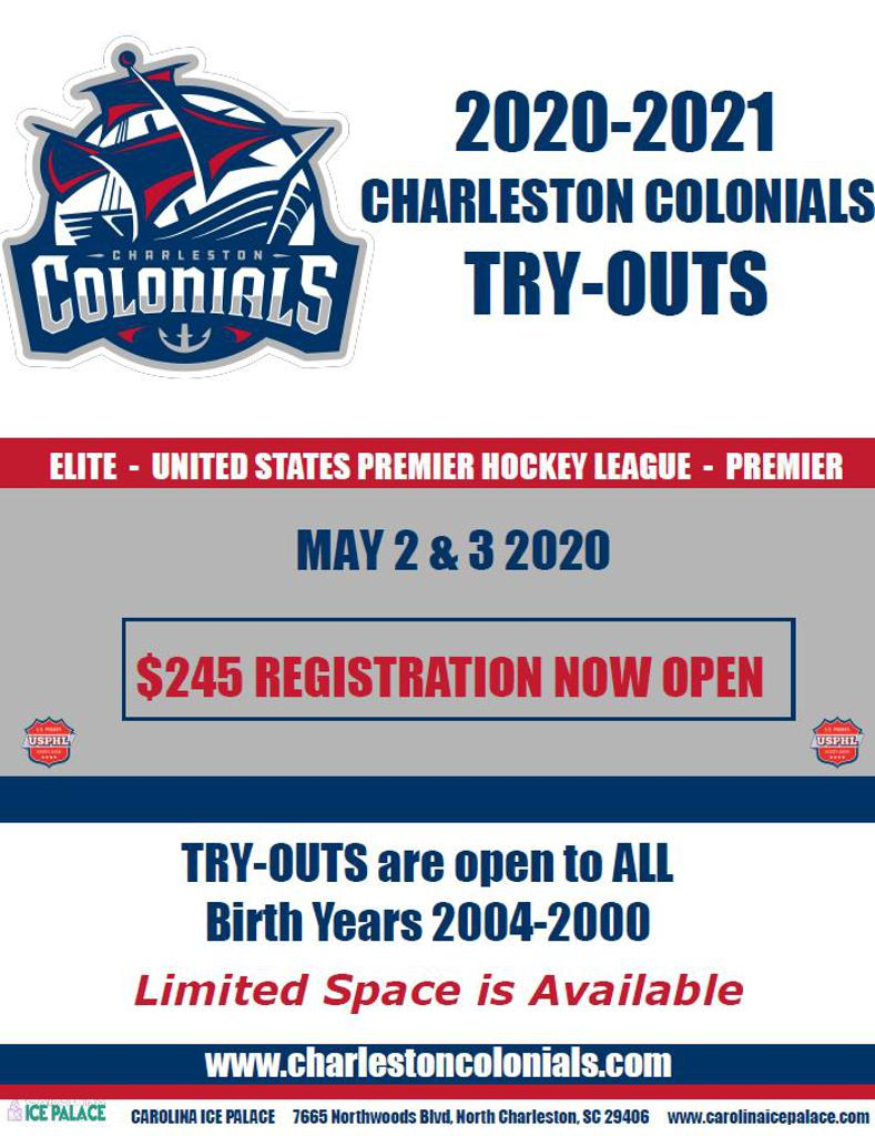 Colonials 20-21 Tryouts