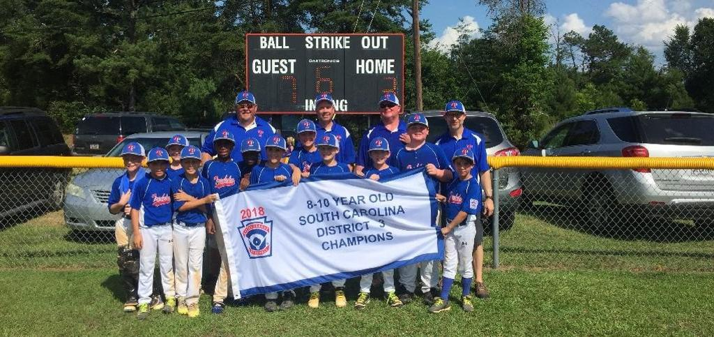 2018 Trenholm Blue Minors All Stars - SC Little League District 3 Champions