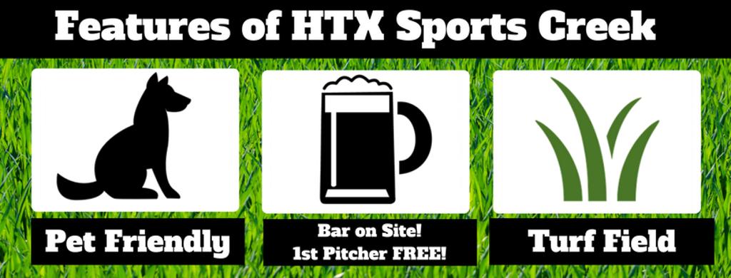 HTX Sports Creek Kickball