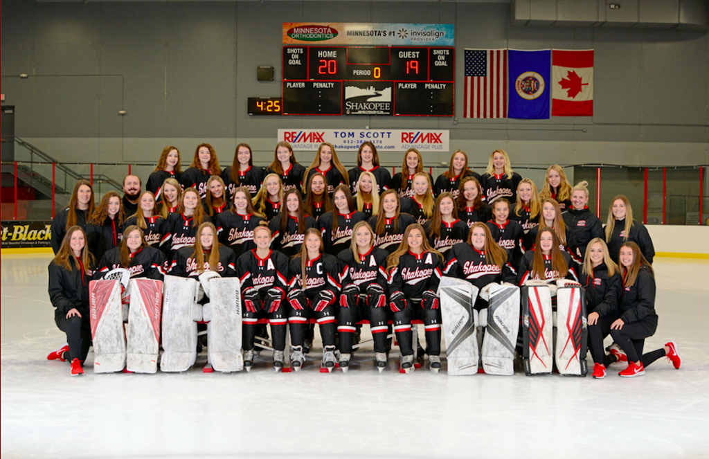 SHAKOPEE GIRLS V/JV HOCKEY TEAM