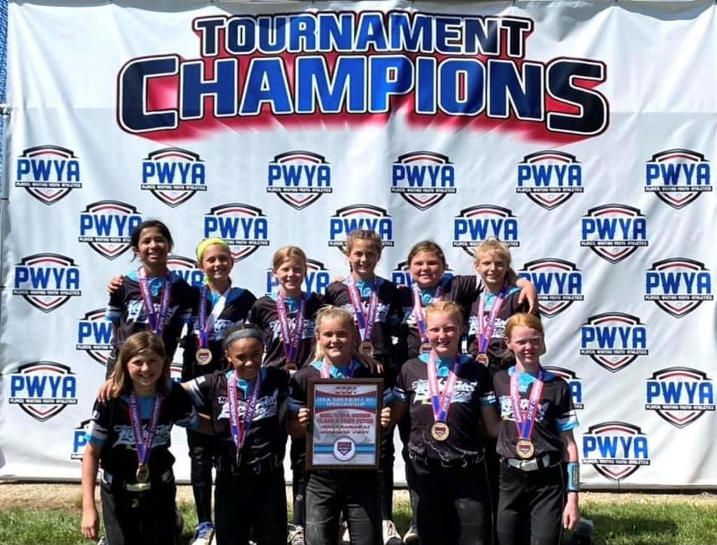 WI 1OU wins the USA State Tourney held in Plover, WI.