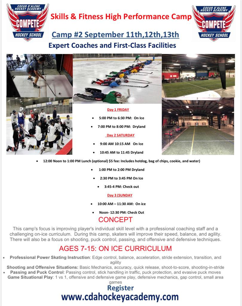 Skills & Fitness Camp!