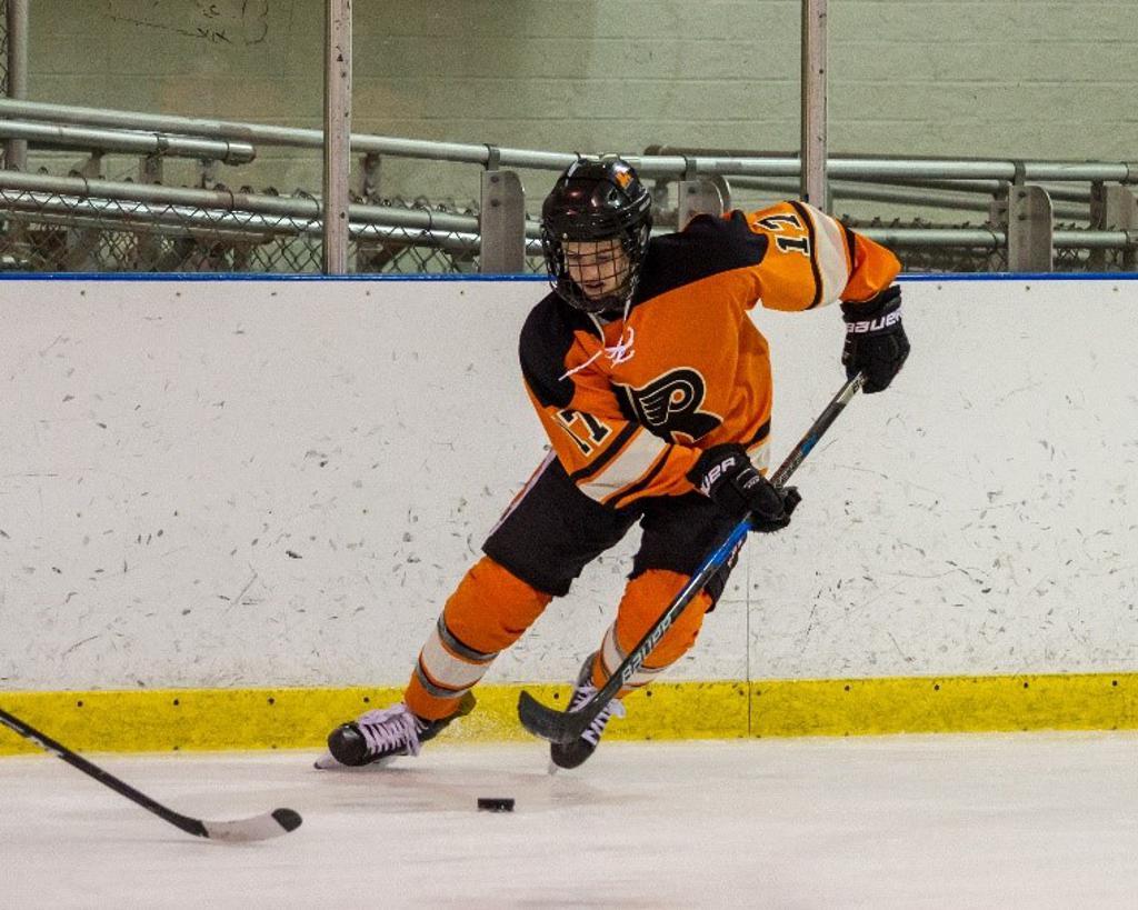 Grant Hineman named Jr. Flyers Player of the Week for week ending January 20.