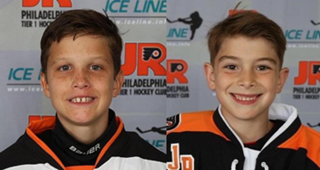 Jr. Flyers announce Squirt Spotlight for week ending September 8 featuring Blake Brenna and Connor Ciavarelli