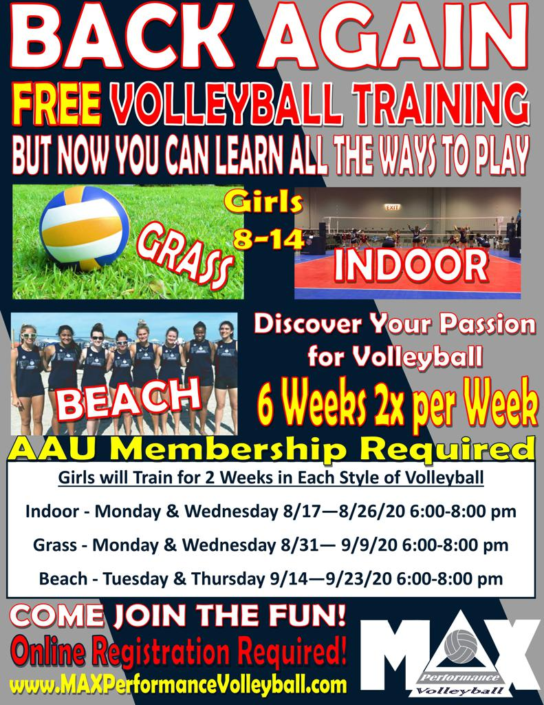 FREE Volleyball Training