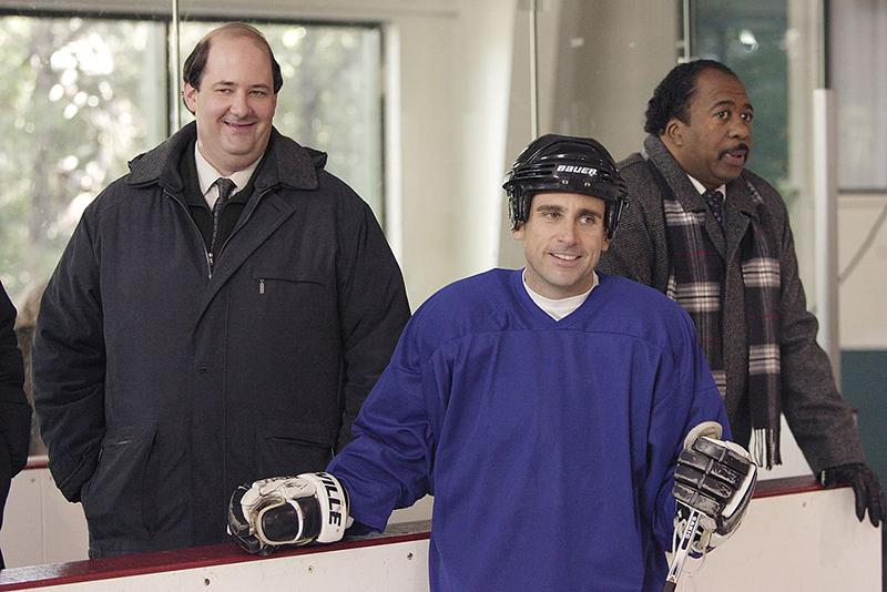 "Steve Carell unveiled his power as a skater in ""The Office,"" but was it enough to push the show into first place? Photo courtesy of NBCUniversal"