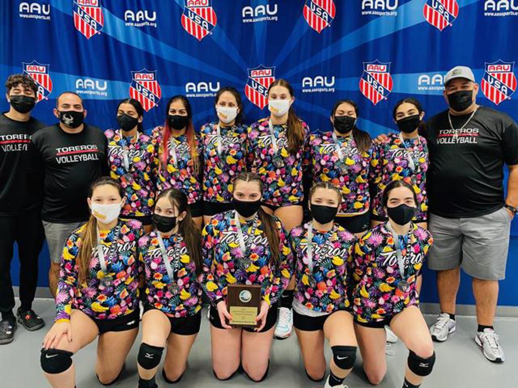 AAU Chili Blast Second Runner Up Champions 2021